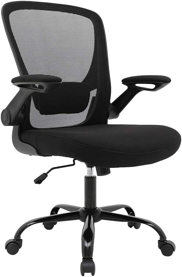 Home Ergonomic Office Gaming Computer Desk Swivel Chair with Armrest