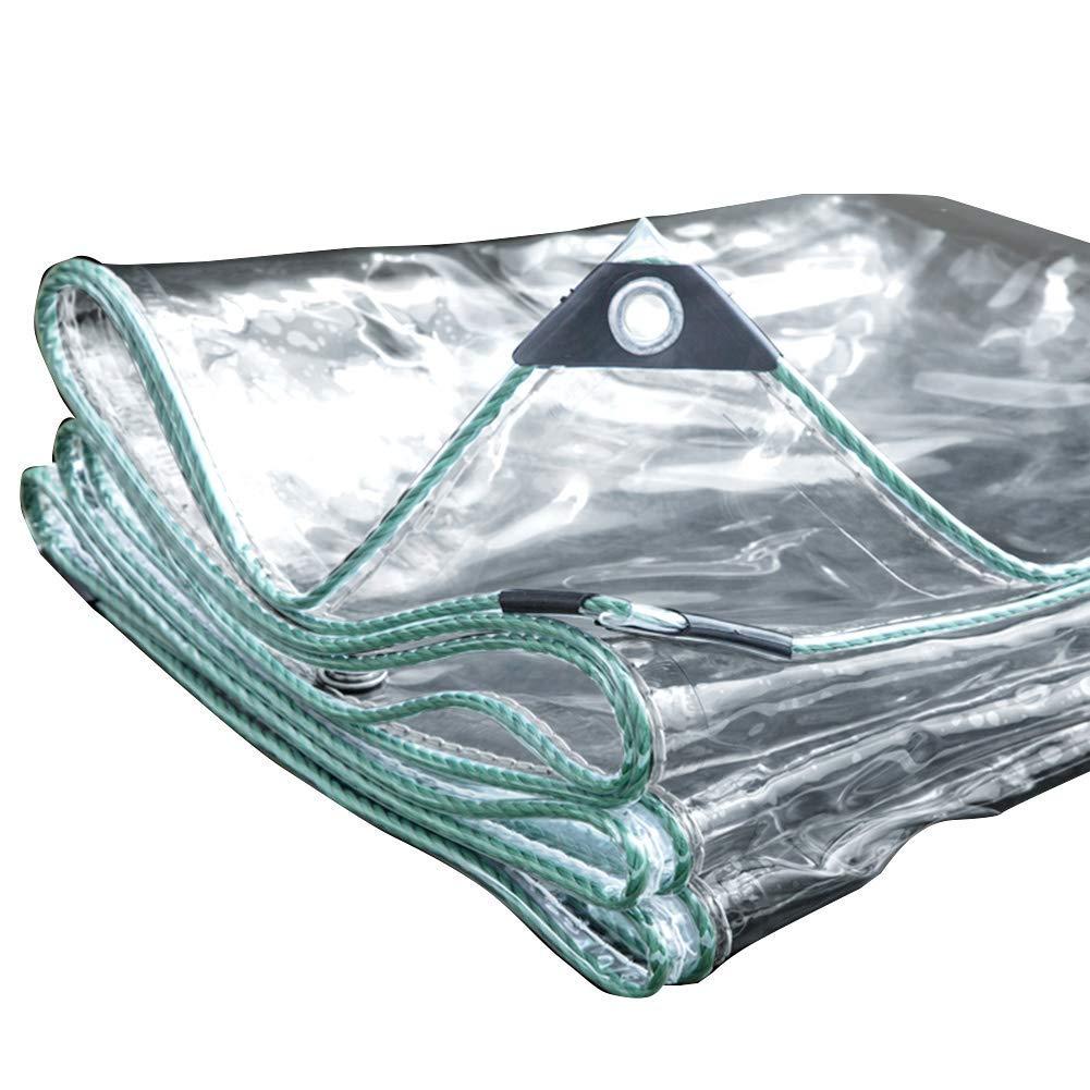 1.42.5m F-S-B BachePVC Chaud imperméable de Coupe-Vent de Tente Claire imperméable résistante, couvertures de Feuille de Sol de bÂche - 500g  ,1.8  2.5m