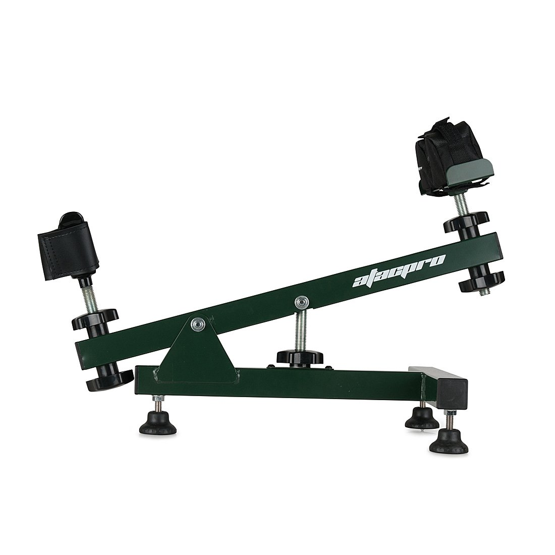 AtacPro Adjustable Rifle Shooting Steay Aim Rest for Outdoor Range Bench, Metal, Recoil Reducing