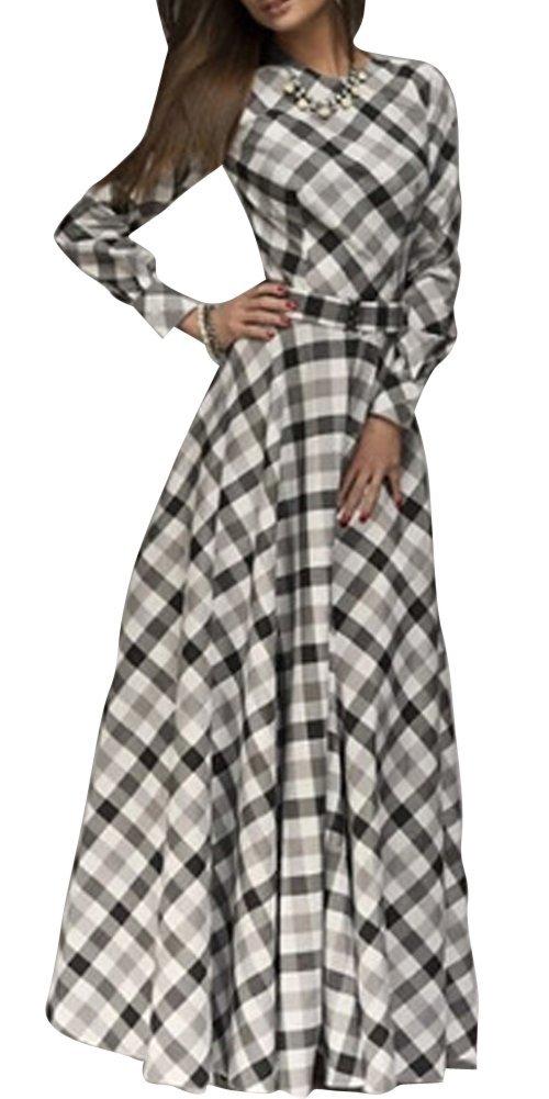 SaiDeng Elegante Vendimia Mujer Vestidos De Noche Manga Larga Plisado Vestidos De Cóctel Vestido Largo