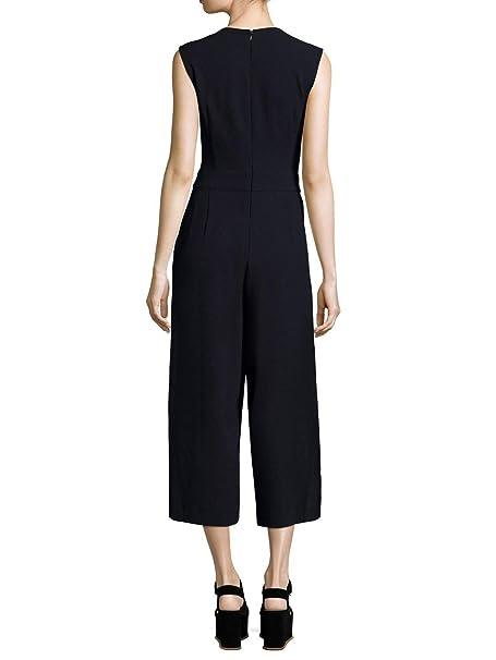 56ce7b6a2d28 Amazon.com  RACHEL Rachel Roy Tie Front Wide Leg Gaucho Jumpsuit  Clothing