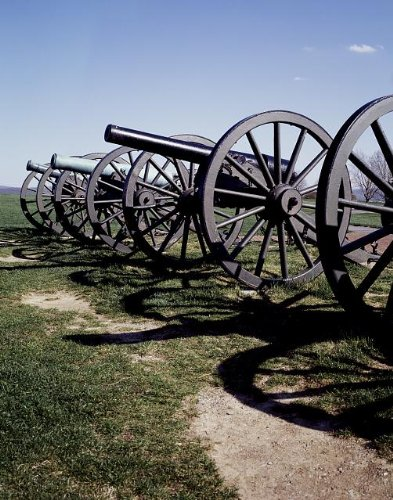 Civil War Cannon Pictures - HistoricalFindings Photo: Photo of American Civil War Cannons,United States,Carol Highsmith,1980-2006