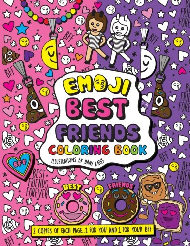 Emoji Best Friends Coloring Book product image