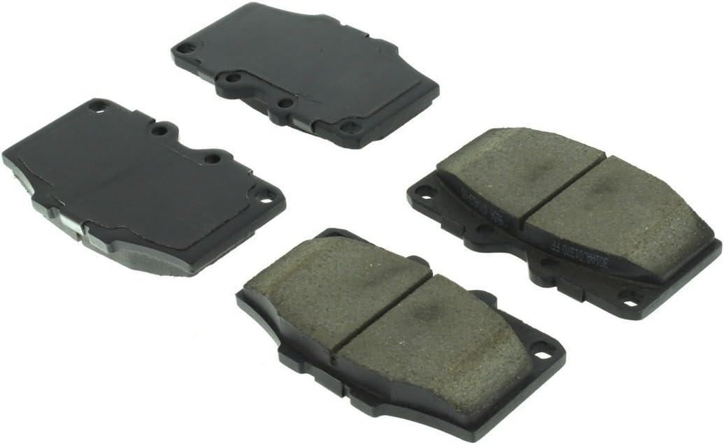 Centric Parts 102.01370 102 Series Semi Metallic Standard Brake Pad