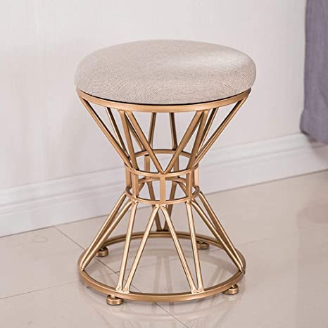 Brilliant Amazon Com Lldmz Wrought Iron Living Room Small Round Stool Gmtry Best Dining Table And Chair Ideas Images Gmtryco