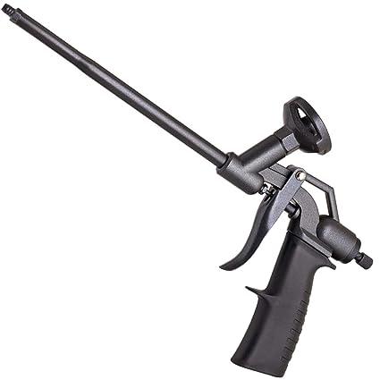klrstec Pistola de espuma de poliuretano de teflón (PTFE) profesional de calidad montaje Pistola