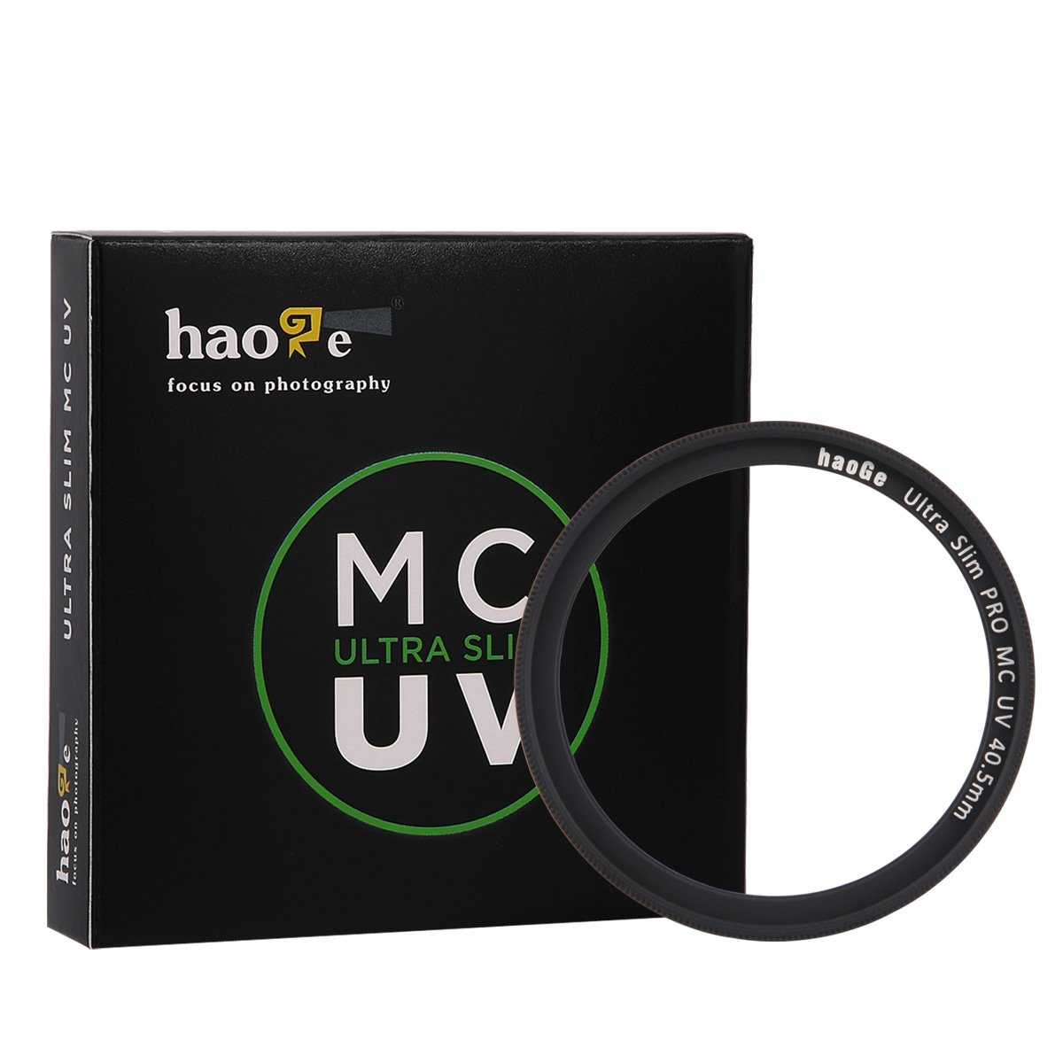 Haoge 40.5mm Ultra Slim MC UV Protection Multicoated Ultraviolet Lens Filter for Sony Alpha a6500 a6300 a6000 a5000 a5100 NEX 5 6 Mirrorless Camera SLR with 16-50mm SELP1650 Lens UV-40.5