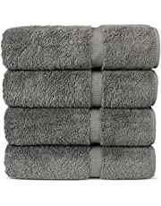 "Luxury Hotel & Spa 100% Cotton Premium Turkish Bath Towels, 27"" x 54''"