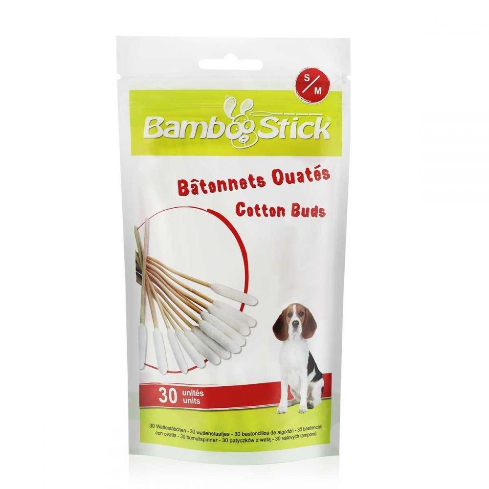 Animali Domestici Assortito S Pacco da 30 JAK BambooStick Cotton fioc