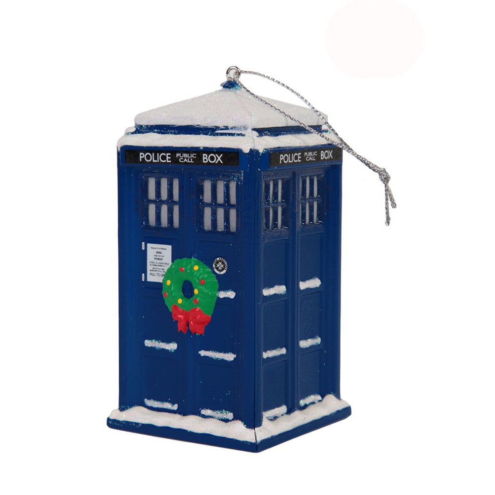 Festive Doctor Who Christmas Tree Ornaments