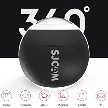 Original SJCAM SJ360 Camera 12MP Sony IMX206 Sensor 2K Mini Panoramic Camera 220 Degree Sport VR Camera WIFI Action Camera Sport DV Riding Recorder Action Cameras at amazon