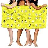 Ghgbm Premium Piece Towel Chicken Dance Fabric (3552) Pattern Vector 100% Polyester Velvet For Household