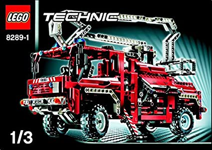 Buy Instruction Manuals For Lego Technic Set 8289 Fire Truck