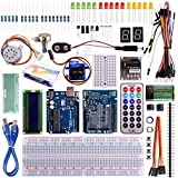 Kuman for Arduino UNO R3 Project Super Starter Kit with Tutorials for Nano Micro Mega WiFi GSM with Screen Servo Motor Sensors K11