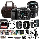 PANASONIC LUMIX G7 4K w/ 14-42mm & 45-150mm Lenses & 128GB Bundle