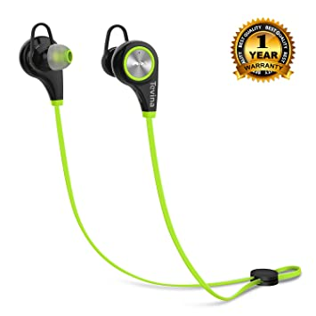 8de855e7347 Bluetooth Headphones for iPhone, Tevina Lightweight Earphones Headsets  Wireless Stereo Earbuds with Mic and Mitigate