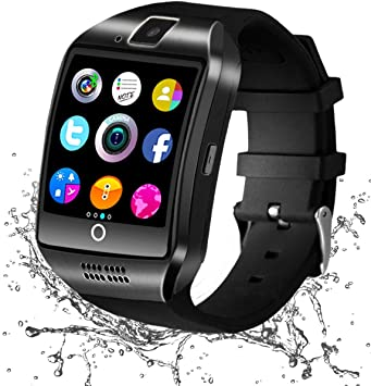Reloj Inteligente Bluetooth, Smartwatch con Camara Impermeable ...