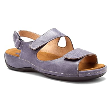 new arrivals Wolky Women's Liana Womens Violet Gray Cartago Leather Wolky Womens Sandals
