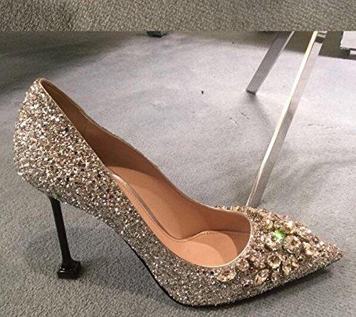 Tal Xue Zapatos Mujer de para Qiqi Corte xqR8qnY0