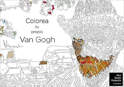 Colorea Tu Propio Van Gogh Ocio Amazones Van Gogh