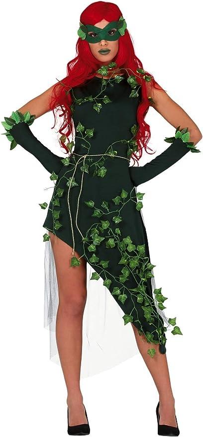 Fancy Me Disfraz de Villano de Plantas Verdes para Mujer, para ...