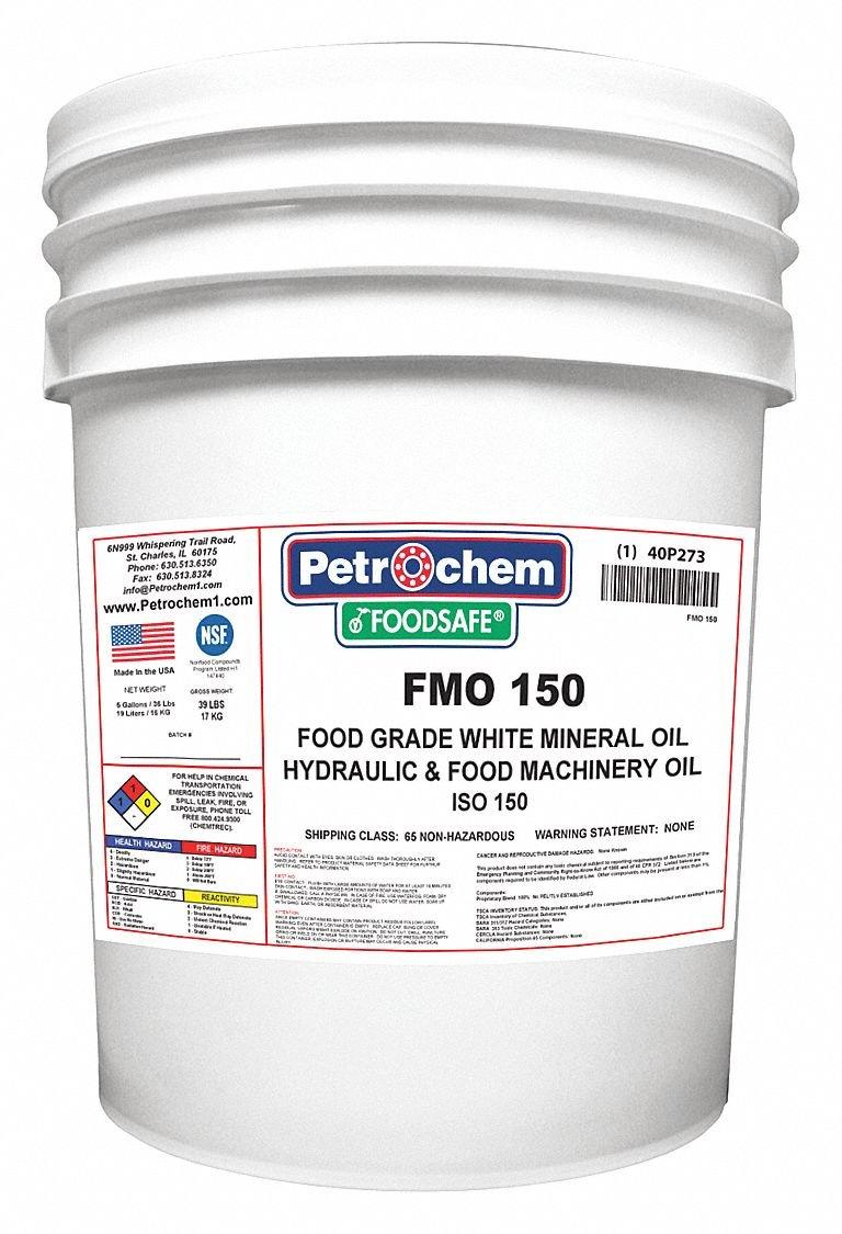 Mineral Gear Oil Food Grade 5 gal.
