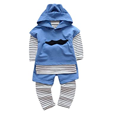 7aa68a056148 3Pcs Clothing Set for Boys 0-24 Months