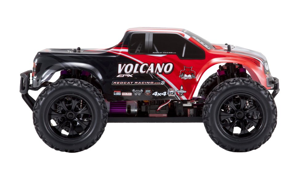 Redcat Racing Electric Volcano EPX Truck with 2.4GHz Radio,Vehicle Battery and Charger Included (1/10 Scale), Red by Redcat Racing (Image #5)