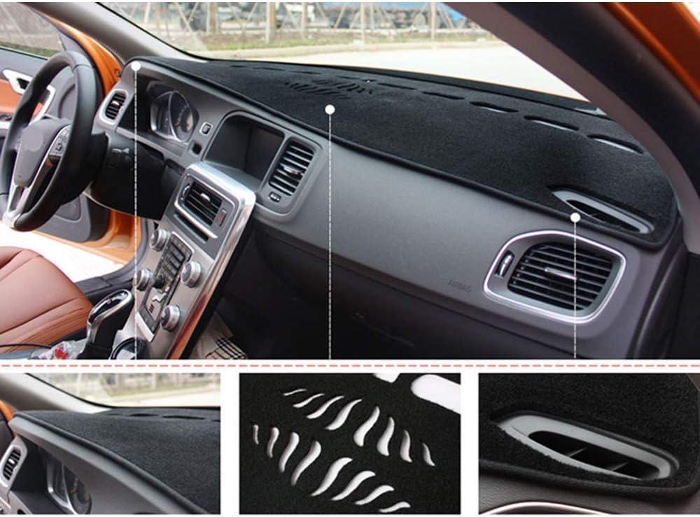 WXHHH para Jeep Grand Cherokee 75th Anniversary Edition Laredo Limited 2011-2019 Car Dashboard Cover Mat Alfombra Car Instrument Car Panel Light Proof Pad