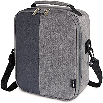 Lifewit Insulated Lunch Box Lunch Bag for Adults Men Women, Thermal Bento Bag for Office / School / Picnic, Grey