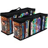 Evelots 6745 Vhs Storage Bags, 2 Piece