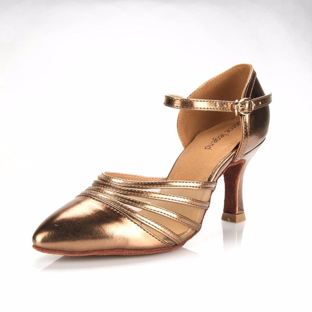 Couleur Masocking@ Femme Chaussures de Danse Sandales High-heeled orteils Fermer US6.5-7 EU37 UK4.5-5 CN37