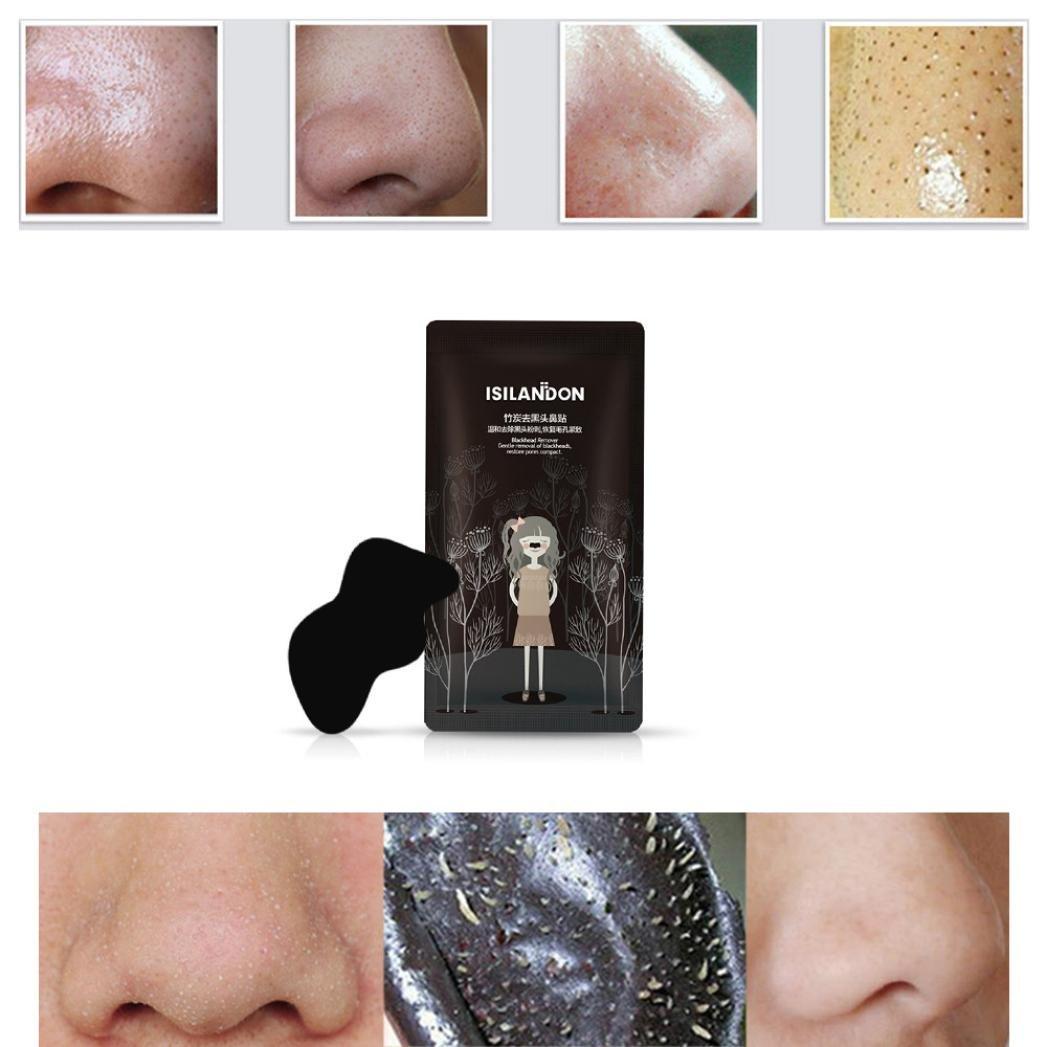 Deep Cleansing Purifying Blackheads y Acné Peel-off Máscara black Mud Face Mask 50g por ESAILQ J