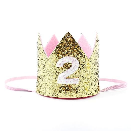 boastvi Sombrero De Cumpleaños Corona Sombrero Hecho A Mano ...