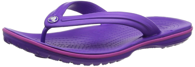 crocs Unisex-Erwachsene Crocband Flip Zehentrenner  37/38 EU|Violett (Ultraviolet/Vibrant Violet)