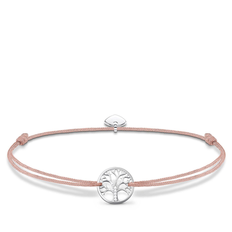 Thomas Sabo Damen-Armband Little Secret Tree of Love 925 Sterling Silber LS031-401-19-L20v