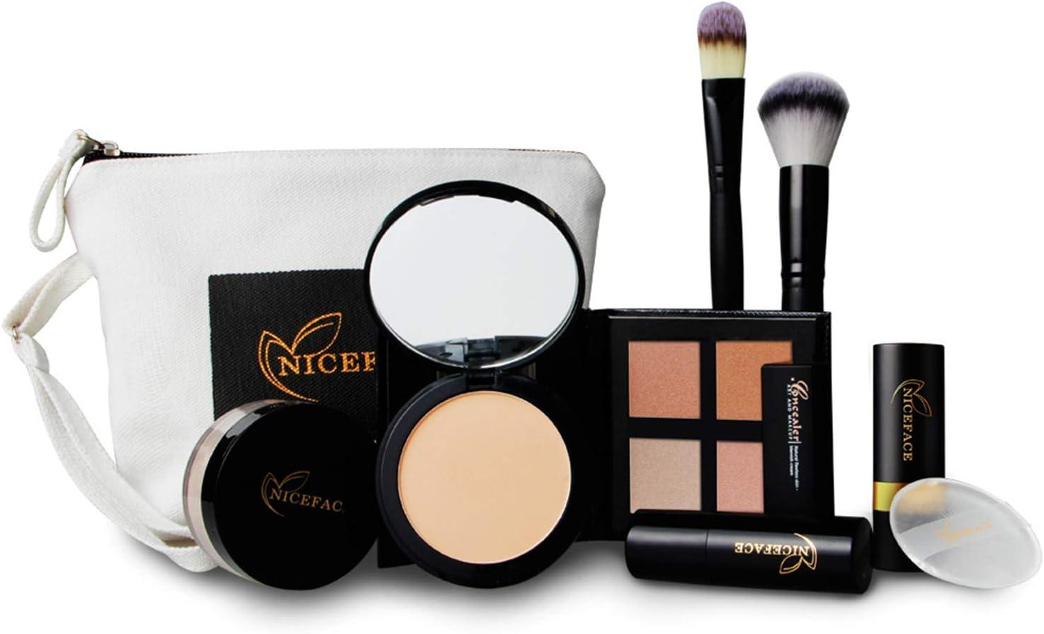 FantasyDay® 6 Piezas Juego de Maquillaje Cassette Schmink Set Maquillaje de Belleza Paleta de Sombras Estuche de maquillaje Profesional Cosmético de Caja Belleza Juego de Regalos de Navidad#3: Amazon.es: Belleza