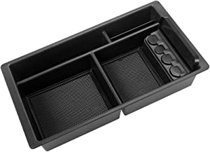 Center Console Tray Organizer for GMC Sierra Yukon Chevy/Chevrolet Silverado Tahoe Suburban 2015-2018 -GM Vehicles Accessories Replaces 22817343 (Full Console w/Bucket Seats ONLY)