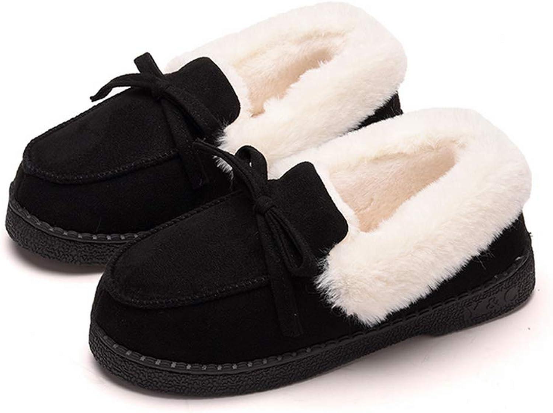 Women Winter Slip On Warm Loafers Shoes