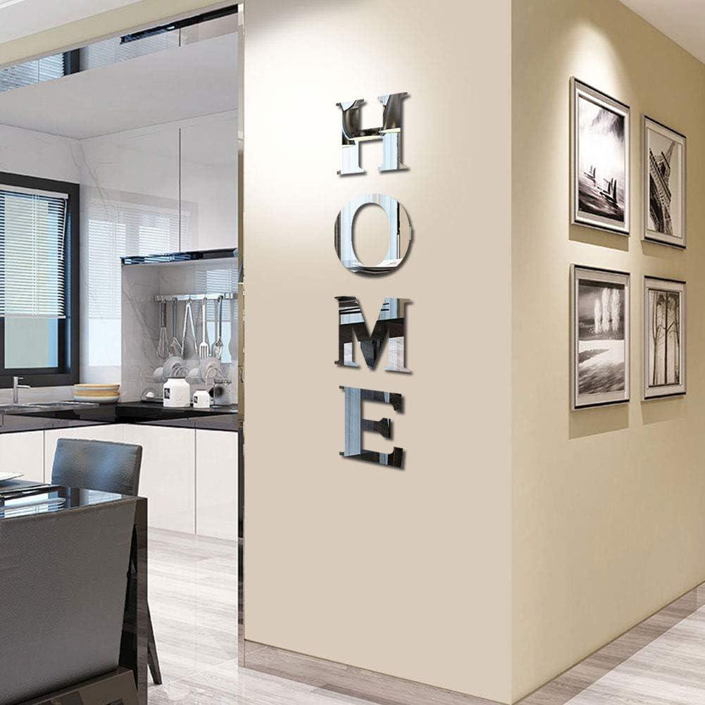 Espejo HOME para pegar a la pared 117 x 25 cm