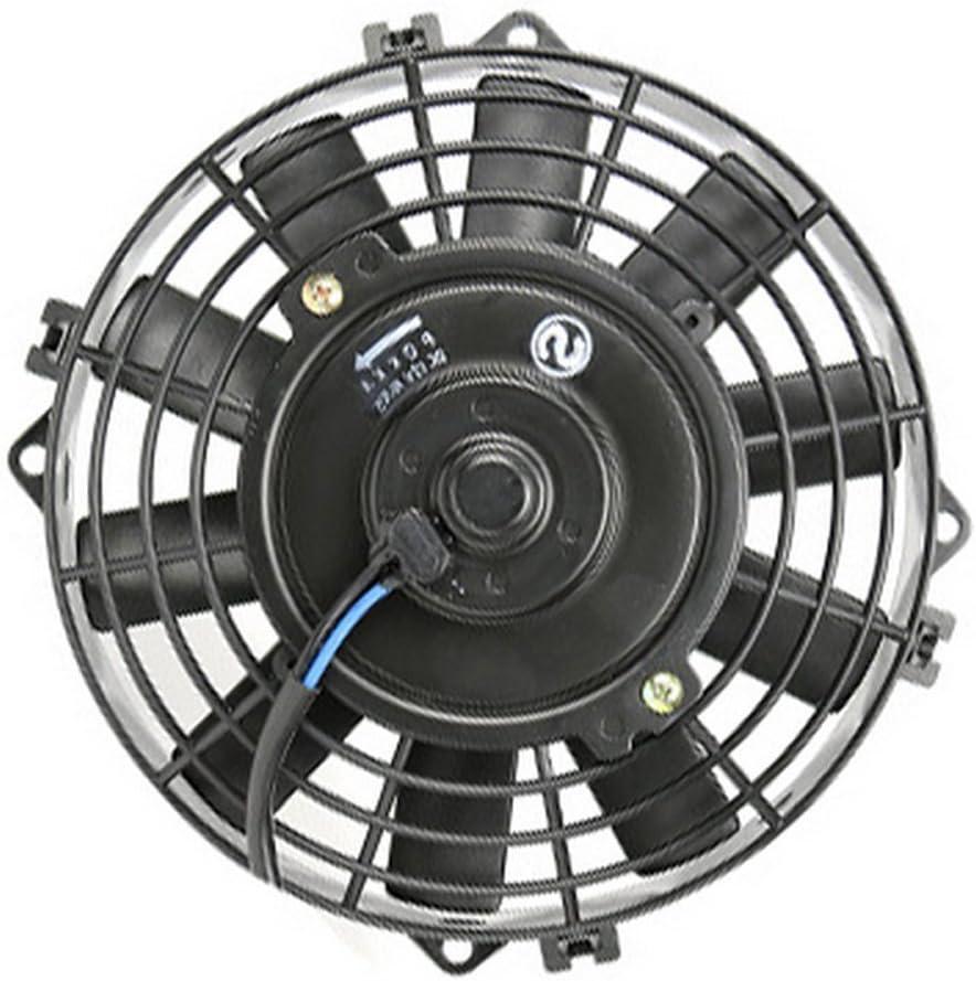 WEPECULIOR Universal 8 Ventilador de enfriamiento del Condensador Eléctrico 12V para Street/Rat/Hot Rod Classic Muscle Car: Amazon.es: Coche y moto