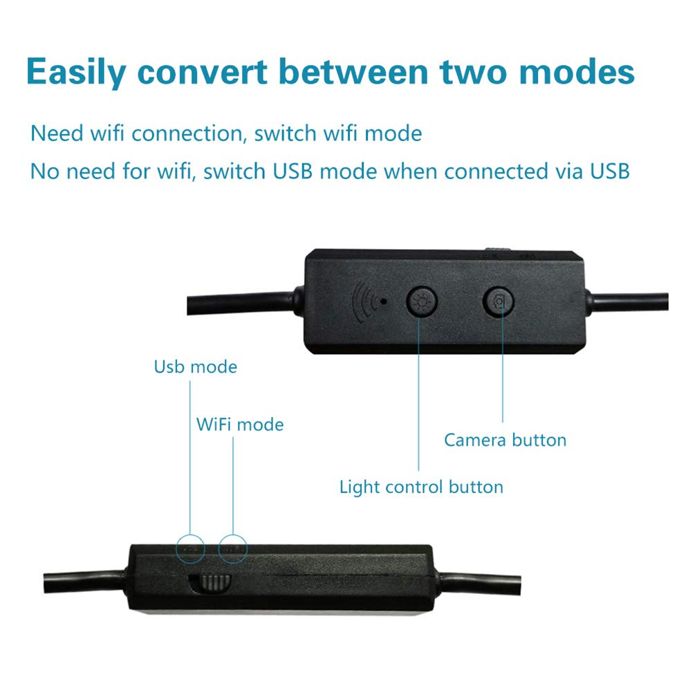 3.5m Hardwired Endoscope, Auto Repair Pipe Three-in-One for Industrial Mobile Phone - 3.5m by Lin-Tong (Image #6)