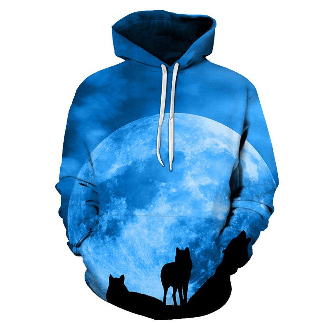 YICHUN Men Women Thin Sweatshirts Top Sweater Hoodie Hooded Sweats Jumpers Casual Shirt