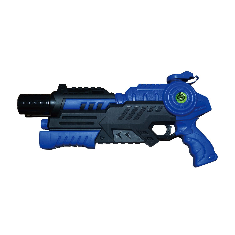 LED mounted New Water Gun ''LASER SPLASH'' (BLUE)【Japan Domestic genuine products】