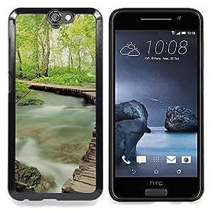 - Misty Forrest - - Cubierta del caso de impacto con el patr??n Art Designs FOR HTC ONE A9 Queen Pattern