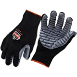 Ergodyne ProFlex 9000 Certified Lightweight Anti-Vibration Work Glove, Large