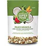 The Australian Superfood Co Paleo Granola, 320 g, Lime, Coconut, Macadamia Burst