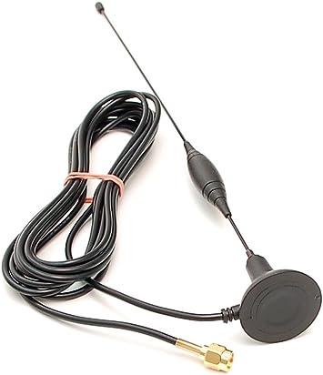 Antena con Multi-Banda gsm 900/1800/1900 magnética MHz UMTS 2,1 GHz SMA/M