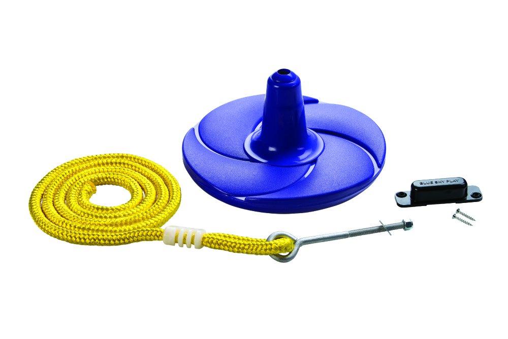 (Purple) - Creative Cedar Designs Disc Swing with Rope B01N39VYWA