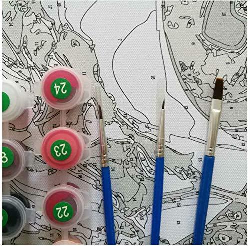 WYTCY Mit Framedheavy Metallmusik Malen Nach Zahlen Malen Malen Malen Färben Painitng Nach Zahlen Für Wohnkultur 40x50cm B07PSGHJCZ | Qualität  e05a99